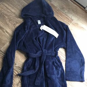 NWT Gap Blue bathrobe Size 10